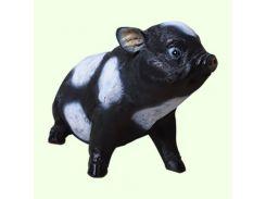 Большая копилка для денег Славянский сувенир Свинка вьетнамская сидячая 9.90 цветная
