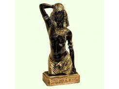 Большая копилка для денег Славянский сувенир Исида 9.199 черная с золотом