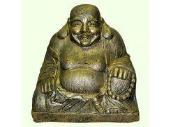 Большая копилка для денег Славянский сувенир Будда 9.203 золотая
