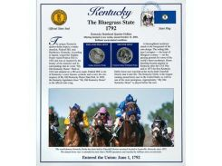 Постер штата Кентукки