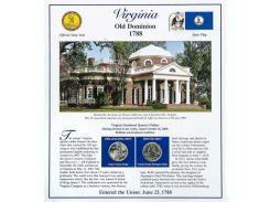Постер штата Вирджиния