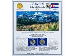 Постер штата Колорадо