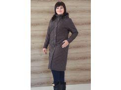 Женское стеганое пальто