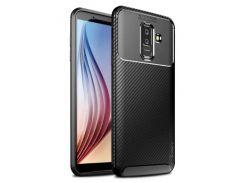 TPU чехол iPaky Kaisy Series для Samsung Galaxy A6 Plus (2018) / Galaxy J8 (2018) (Черный) 678634