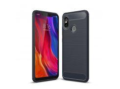 TPU чехол iPaky Slim Series для Xiaomi Mi 8 (Синий) 589335