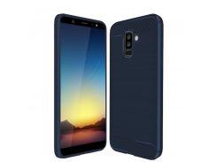 TPU чехол iPaky Slim Series для Samsung Galaxy A6 Plus (2018) / Galaxy J8 (2018) (Синий) 589322