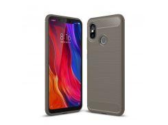 TPU чехол iPaky Slim Series для Xiaomi Mi 8 (Серый) 589334