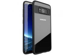 TPU+PC чехол iPaky Luckcool Series для Samsung G955 Galaxy S8 Plus (Черный) 61073