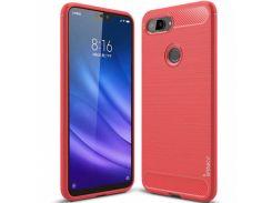 TPU чехол iPaky Slim Series для Xiaomi Mi 8 Lite / Mi 8 Youth (Mi 8X) (Красный) 691238