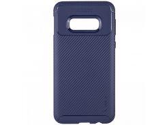 TPU чехол iPaky Kaisy Series для Samsung Galaxy S10+ (Синий) 685655