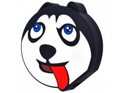 Портативное зарядное устройство Power Bank Emoji (5000 mAh) (Хаски) 713951