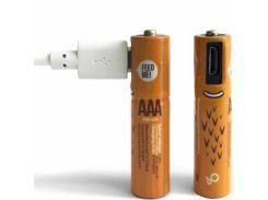 Аккумуляторные батарейки Smartoools AAA 450 mah 4 pcs (Черный) 746831