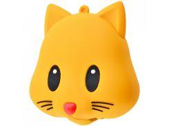 Портативное зарядное устройство PowerBank Emoji New Design 15000 mAh (Real 2600 mAh) (Yellow_Cat) 718148
