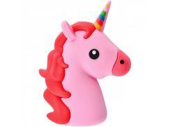 Портативное зарядное устройство PowerBank Emoji New Design 15000 mAh (Real 2600 mAh) (Pink_Unicorn) 718141