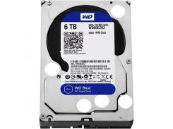 "Western Digital Blue Desktop 6TB 64Mb 3.5"" (WD60EZRZ)"