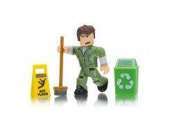 Jazwares Roblox Core Figures. Welcome to Bloxburg: Glen the Janitor W3 (ROG0106)