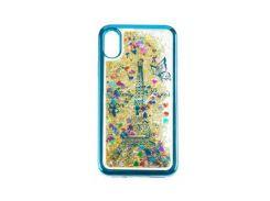 Beckberg Aqua Series Case for Apple iPhone X Paris Blue
