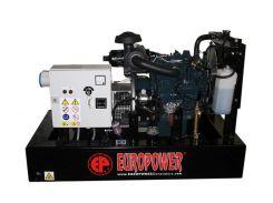 Генератор дизельный Europower EP73DE KU/S 230V ATS