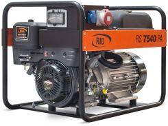 Генератор бензиновый RID RS 7540 PA