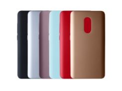 Пластиковая накладка soft-touch с защитой торцов Joyroom для Xiaomi Redmi Note 4 (MTK)