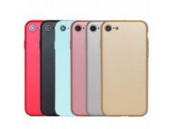 """Пластиковая накладка soft-touch с защитой торцов Joyroom для Apple iPhone 8 (4.7"""")"""