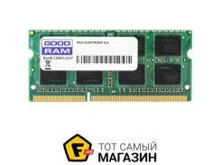 Память Goodram SODIMM DDR4 4GB, 2133MHz, PC4-17000 (GR2133S464L15S/4G)