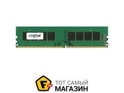 Память Crucial DDR4 8GB, 2400MHz, PC4-19200, Single Rank (CT8G4DFS824A)