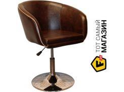 Барный стул AMF Дамкар Хром Мадрас дк браун (42352)