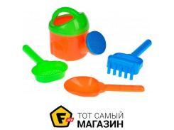 Игрушка для песочницы Same Toy HY-1513WUt-2 оранжевый, 4пр.