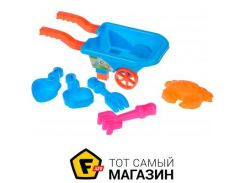 Игрушка для песочницы Same Toy B015-Eut-2 голубой, 6пр.