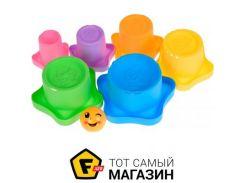 Игрушка для песочницы Same Toy Stacking cups 7пр. (618-10Ut)