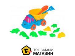 Игрушка для песочницы Same Toy B011-CUt-1 голубой/желтый, 12пр.