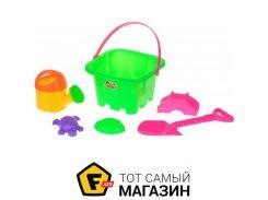 Игрушка для песочницы Same Toy HY-1142WUt-1 зеленый, 6пр.