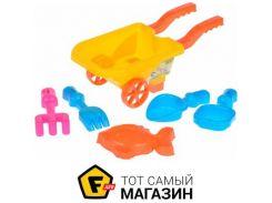 Игрушка для песочницы Same Toy B015-Eut-1 желтый, 6пр.