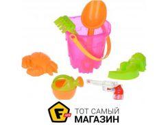 Игрушка для песочницы Same Toy 882Ut-2 розовое, 6пр.