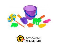 Игрушка для песочницы Same Toy HY-1207WUt-3 фиолетовый, 8пр.