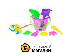 Игрушка для песочницы Same Toy HY-1206WUt-2 фиолетовый, 9пр.