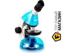 Микроскоп Sigeta MIXI 40x-640x BLUE (с адаптером для смартфона) (65911)