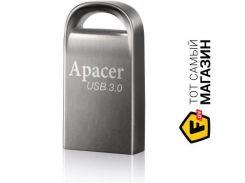 флешка apacer handy steno ah156 16gb silver (ap16gah156a-1)