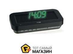Настольные часы TFA HoloClock green (60.5009.04)