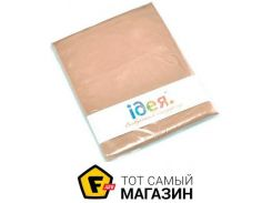 Наволочка IDEIA Сатин 70x70см, светло-коричневый (2200003835984)