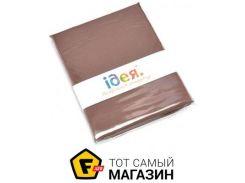 Наволочка IDEIA Сатин 50x70см, шоколадный (2200003835977)