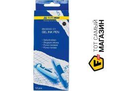 Ручка Buromax BM.8340-01 черный, 12шт.