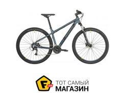 """Велосипед Bergamont Revox 3 2019 29"""" серебристый синий/черный/лаймовый сатиновый 17.5"""" (270304160)"""
