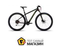 """Велосипед Ghost Kato 3 AL 2017 27.5"""" черный/зеленый/красный 18"""" (17KA3732)"""