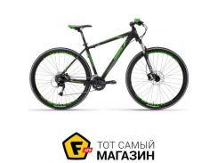 """Велосипед Lombardo Sestriere 350 U 2017 29"""" черный/зеленый 19"""" (ML29350U-C075)"""