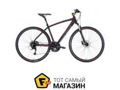 """Велосипед Lombardo Amantea 200 U 2017 28"""" черный/красный 18"""" (TL28AAU.N-A038)"""