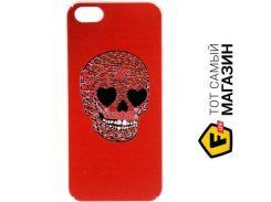 Чехол Avatti Mela Pattern 3D PC Case for iPhone 5/5S SH7409