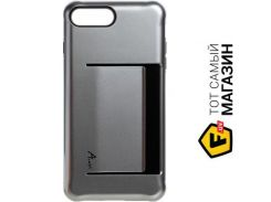 Чехол Avatti Mela Extreme PC Cover for iPhone 7, Silver