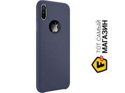 Чехол Joyroom Lyber Soft anty-slip case JR-BP367 iPhone X, Blue